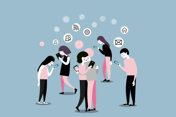 اعتیاد به گوشی های هوشمند همراه
