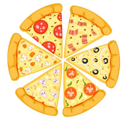 تیم دو پیتزایی در فروشگاه آمازون