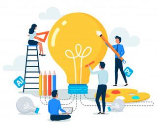 با خود برای ایجاد ایده های جدیدقرار بگذارید