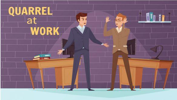 مشاجره در محیط کار