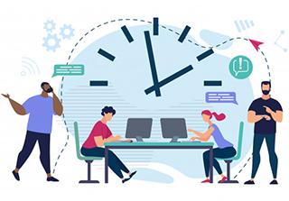 طرز رفتار در محیط کار و بازخورد تیم