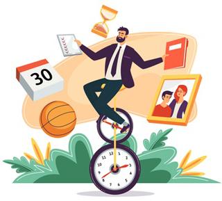 نکات مدیریت زمان با کارهای مهم