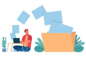انجام کار در منزل با ساختار شرکت