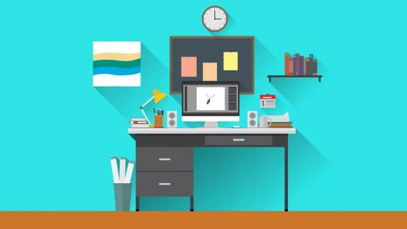 چند راهکار ساده برای داشتن یک میز کار منظم