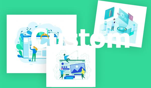 تصاویر سفارشی در طراحی UI و UX