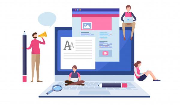 تولید محتوای با کیفیت برای بهبود سئو سایت
