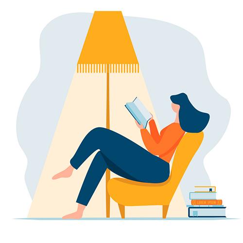 براای عادت به کتاب خواندن باید زمان تنظیم کنید