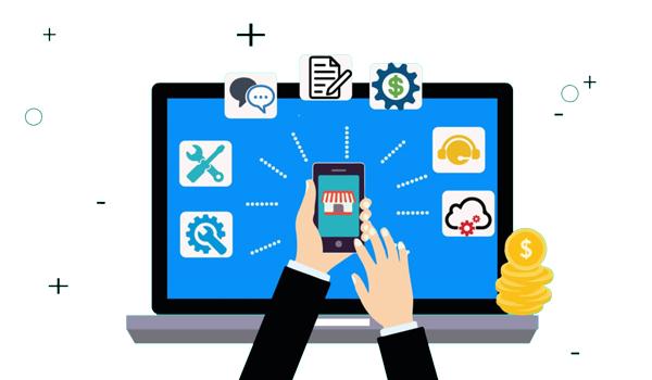 سرویس های تولید شده در مدل کسب و کار آنلاین