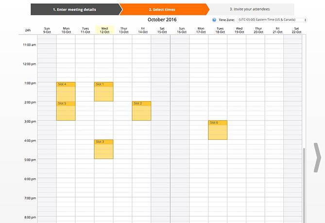 NeedToMeet یکی از ابزارهای برنامه ریزی جلسات