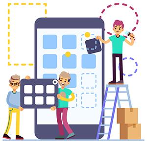 فعالیتهای بازاریابی برای ایده ساخت اپلیکیشن