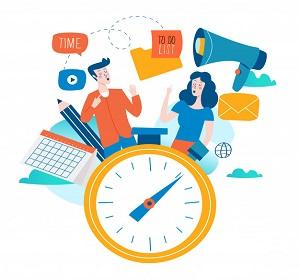 مدیریت عاقلانه زمان برای آگاهی از مزایای شغلی
