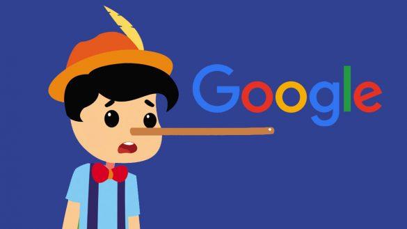 حذف تبلیغات بد و دروغین در گوگل