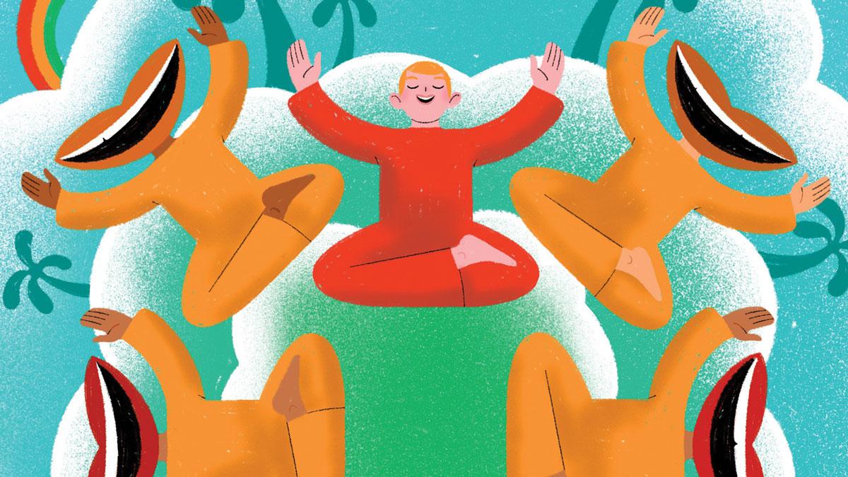 یوگای خنده چیست و چگونه دردها را از ما دور میکند؟
